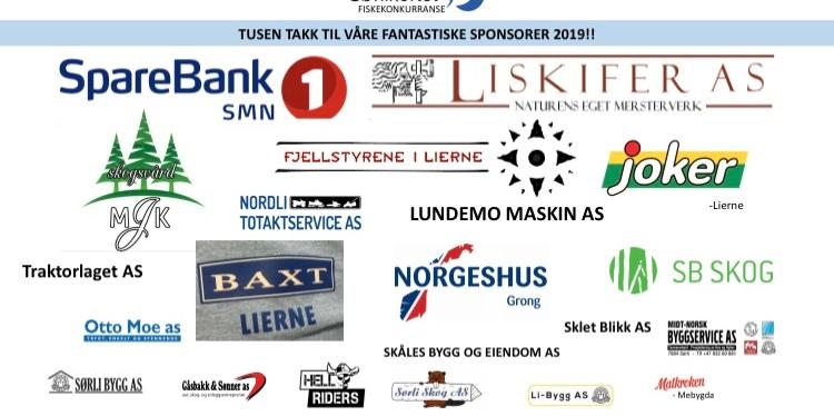 Våre sponsorer 2019